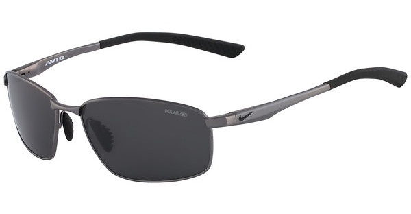 Nike AVID SQ P EV0594 003 GUNMETAL WITH POLARIZED GREY LENS Polarized LENS