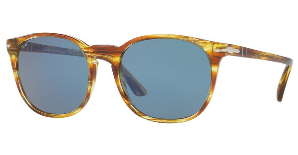 Persol PO3007S 105056 BLUESTRIPED BROWN YELLOW