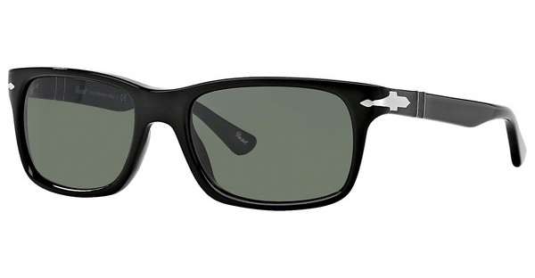 Persol PO3048S 95/31 CRYSTAL GREENBLACK