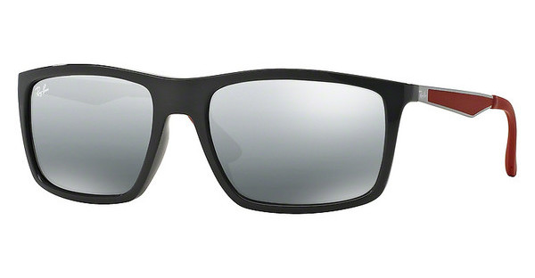 Ray-Ban RB4228 618588 GREY MIRROR SILVER GRADIENTSHINY GREY